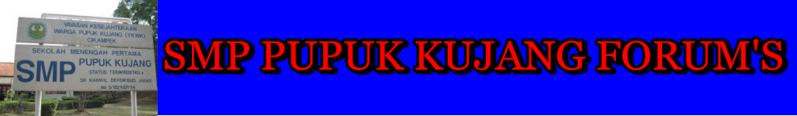 SMP Pupuk Kujang Cikampek Forum's