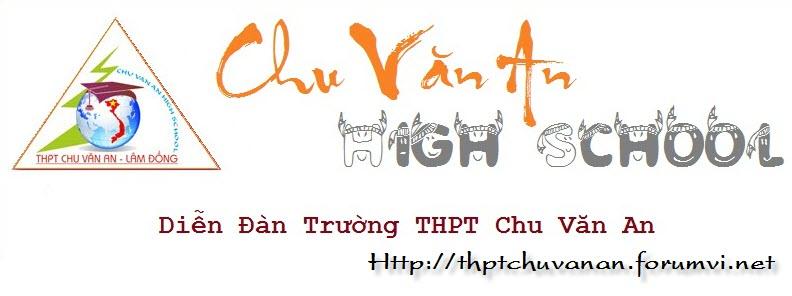 Diễn Đàn Trường THPT Chu Văn An