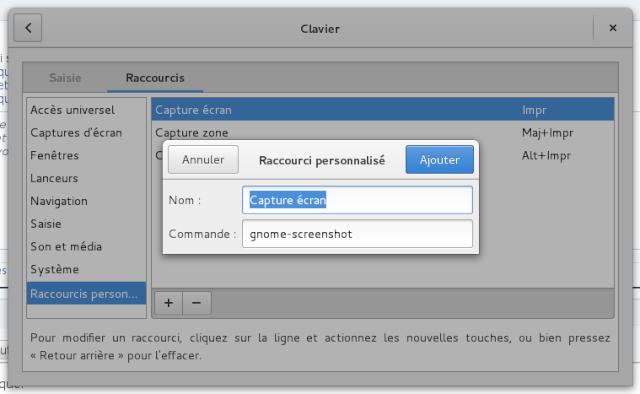 R pertoire o screenshot enregistre les shots mat riel for Fenetre hors ecran