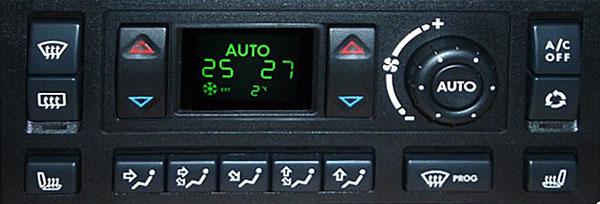 CONNECTOR LCD REPAIR HEVAC P38 RANGE ROVER  AFFICHAGE CHAUFFAGE CONNECTEUR ECRAN