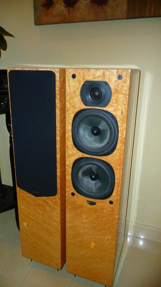 Quad L Series 22l Floor Standing Speaker Used