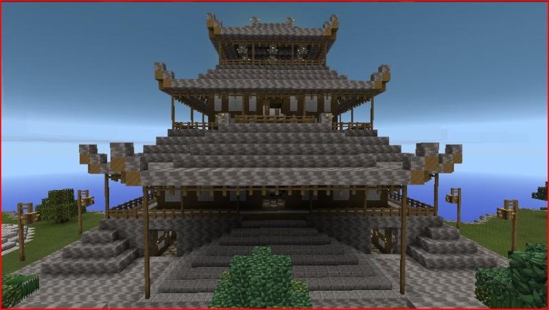 Partage trouver l 39 inspiration - Maison chinoise minecraft ...