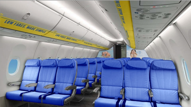 Actualit s a ronautique et spatiale page 20 for Interieur avion ryanair