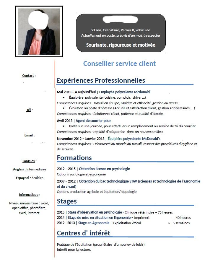 Lettre De Motivation Stage D Observation Psychologie ...