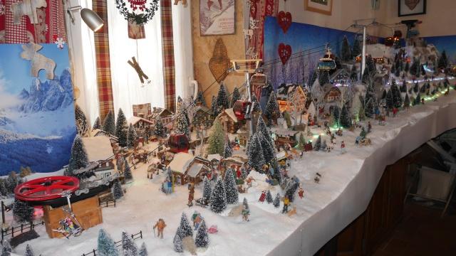 La neige est tomb e sur les montagnes - Fabriquer un village de noel en carton ...