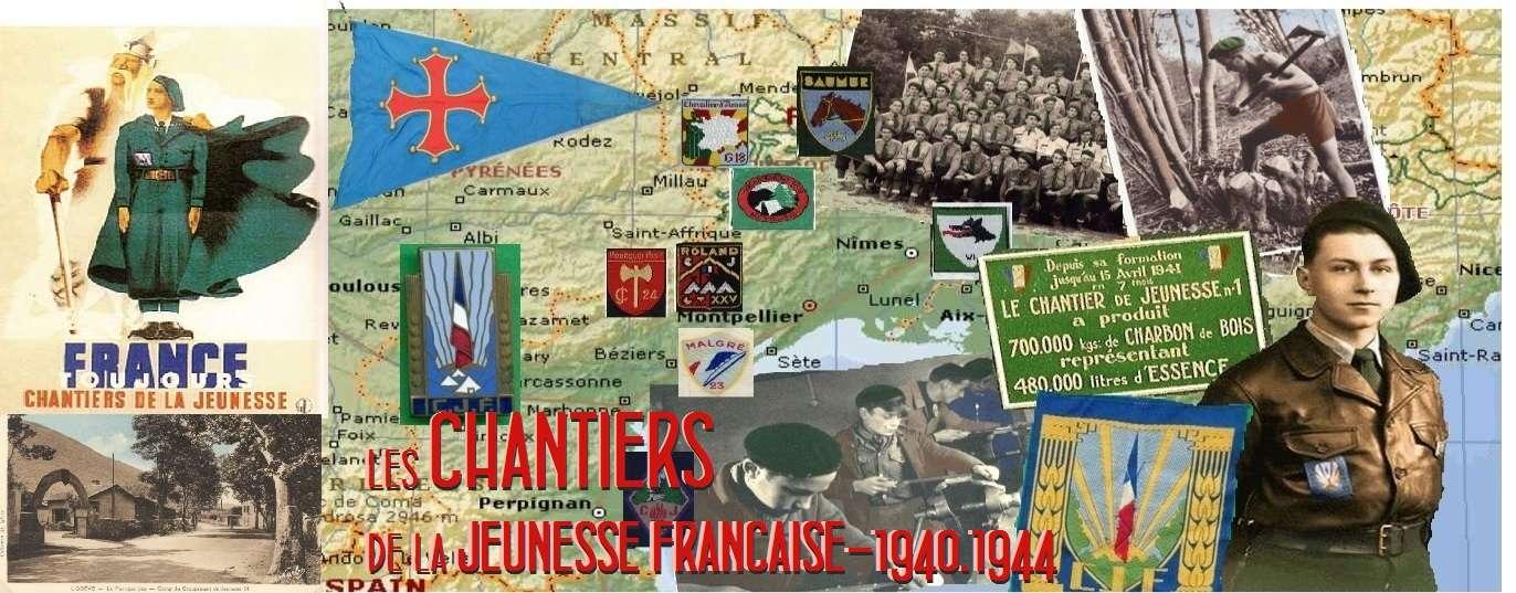Les Chantiers de La Jeunesse Française de 1940 à 1944