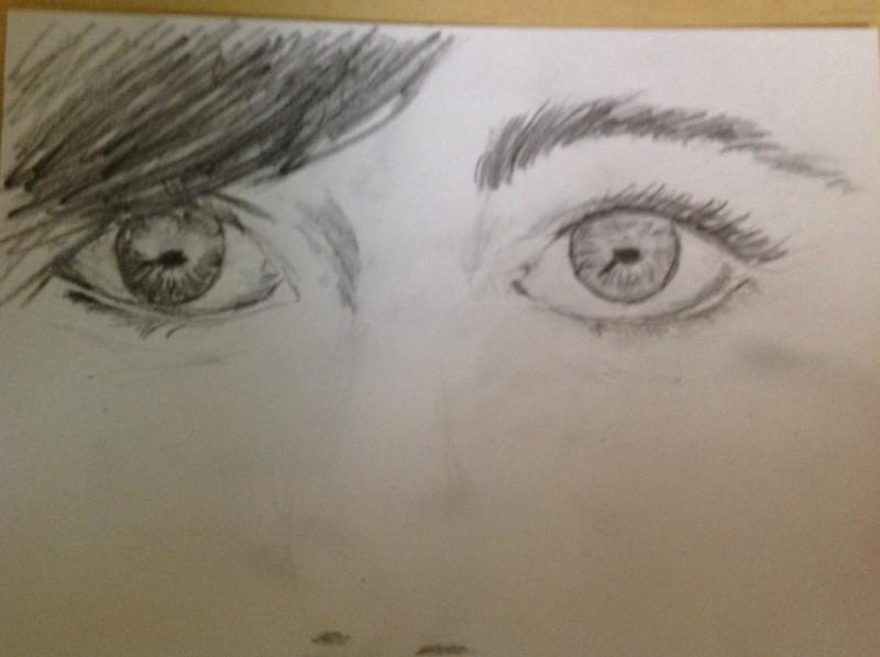 dessin oeil
