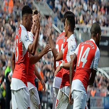 اهداف مباراة آرسنال 1 x نيوكاسل يونايتد 0