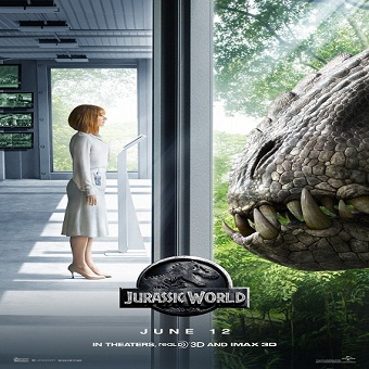 فيلم Jurassic World 2015 مترجم دي فى دى