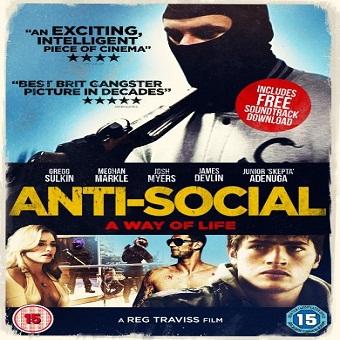 فيلم Anti-Social 2015 مترجم ديفيدى