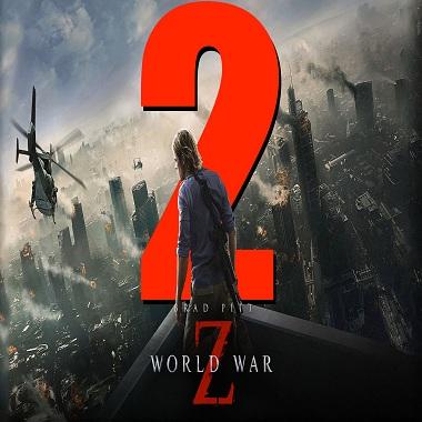 جزء جديد من فيلم World war z 2 قيد العمل