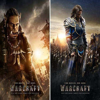 مترجم اعلان + بوسترات لفيلم 2016 Warcraft بجودة 1080p HD