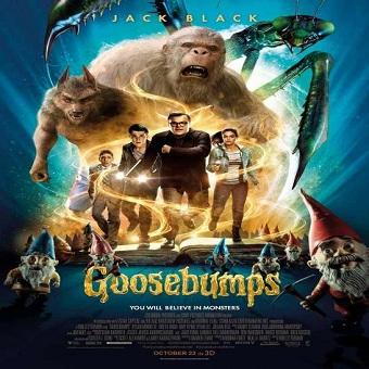 فيلم Goosebumps 2015 مترجم 720p بلوراى