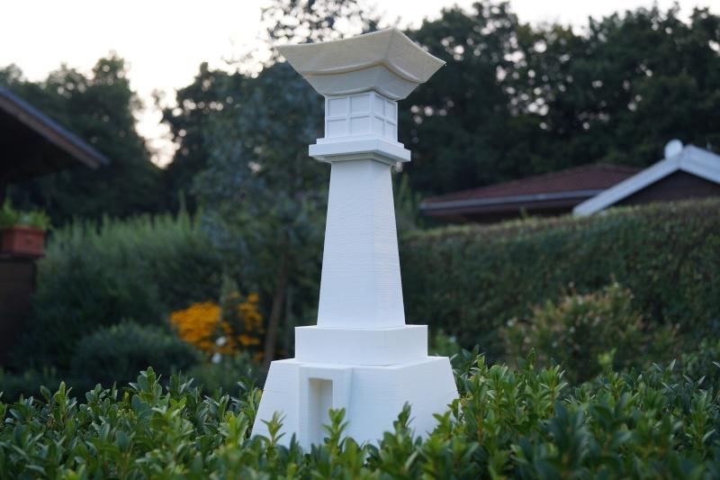 Der japanische leuchtturm udo saki als 3d modell fertig for Leuchtturm modell selber bauen