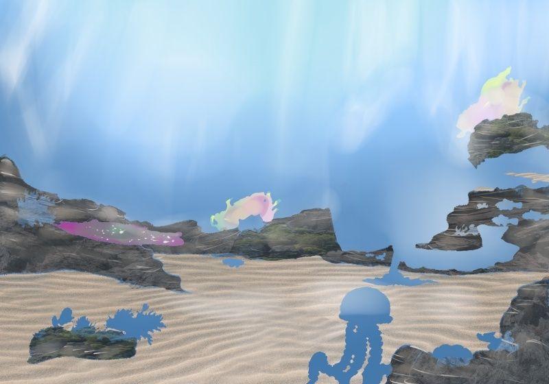 dessin océan numérique