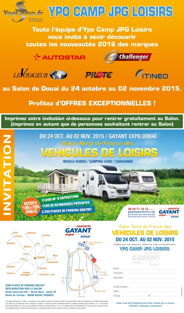 forum camping car par marque salon du camping cars de douai 59 du 24 au 2 novembre. Black Bedroom Furniture Sets. Home Design Ideas