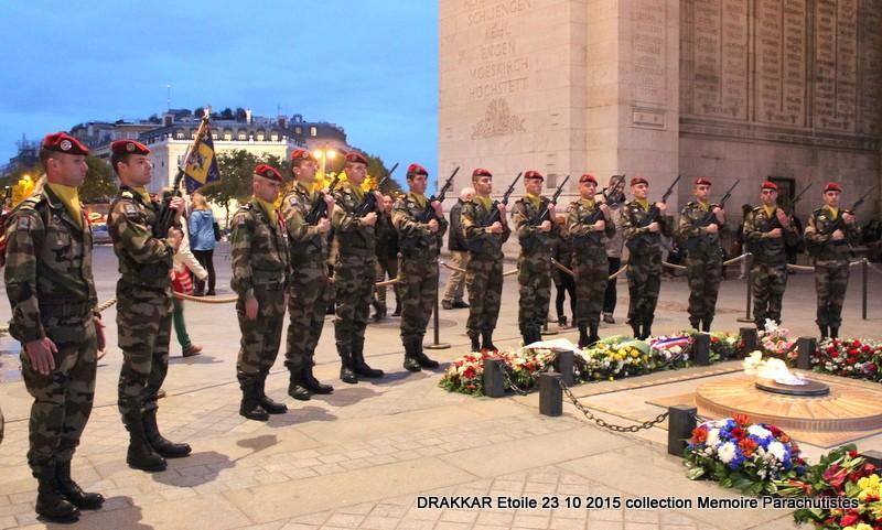 Hommage à nos 58 parachutistes des 1er et 9e RCP tombés au LEVANT sous les décombres de l'immeuble DRAKKAR