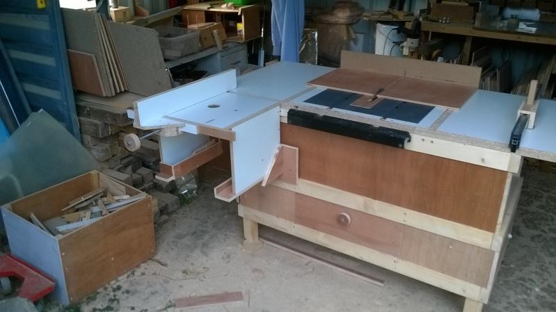 Scie sous table - Defonceuse sous table scheppach hf50 ...