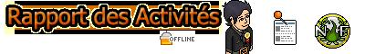 Rapport d'activité