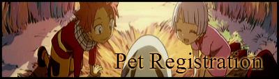 Pet Registration