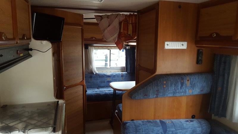 C25 j5 ducato et d riv s mon citroen c25 pilote for Interieur de camping car