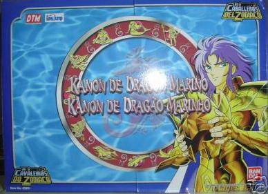 Saint cloth series Sea Dragon Kanon