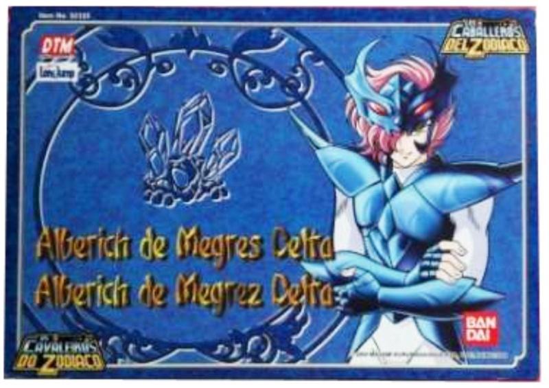 Saint cloth series Delta Megrez Alberich