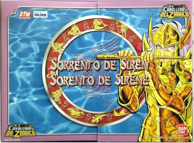 Saint cloth series Siren Sorrento