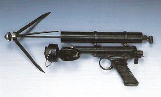 Pistolet lance grappin