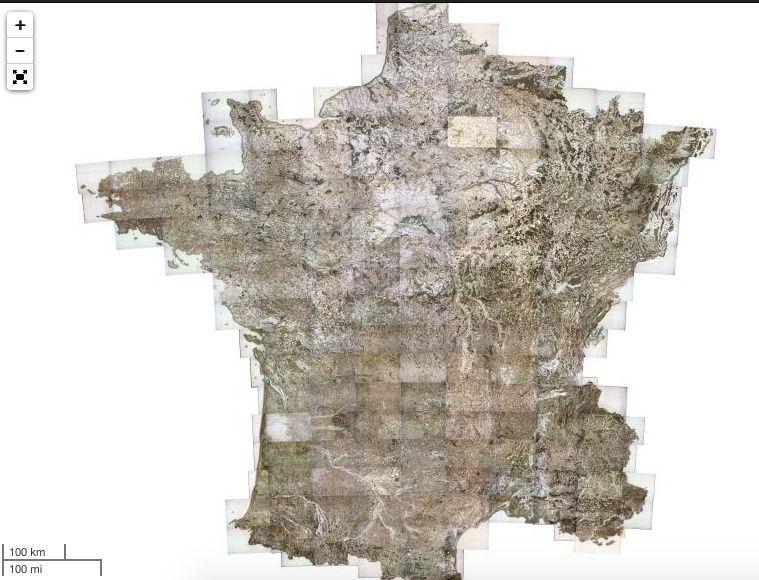 Carte De France Vectoriser Grandes Villes