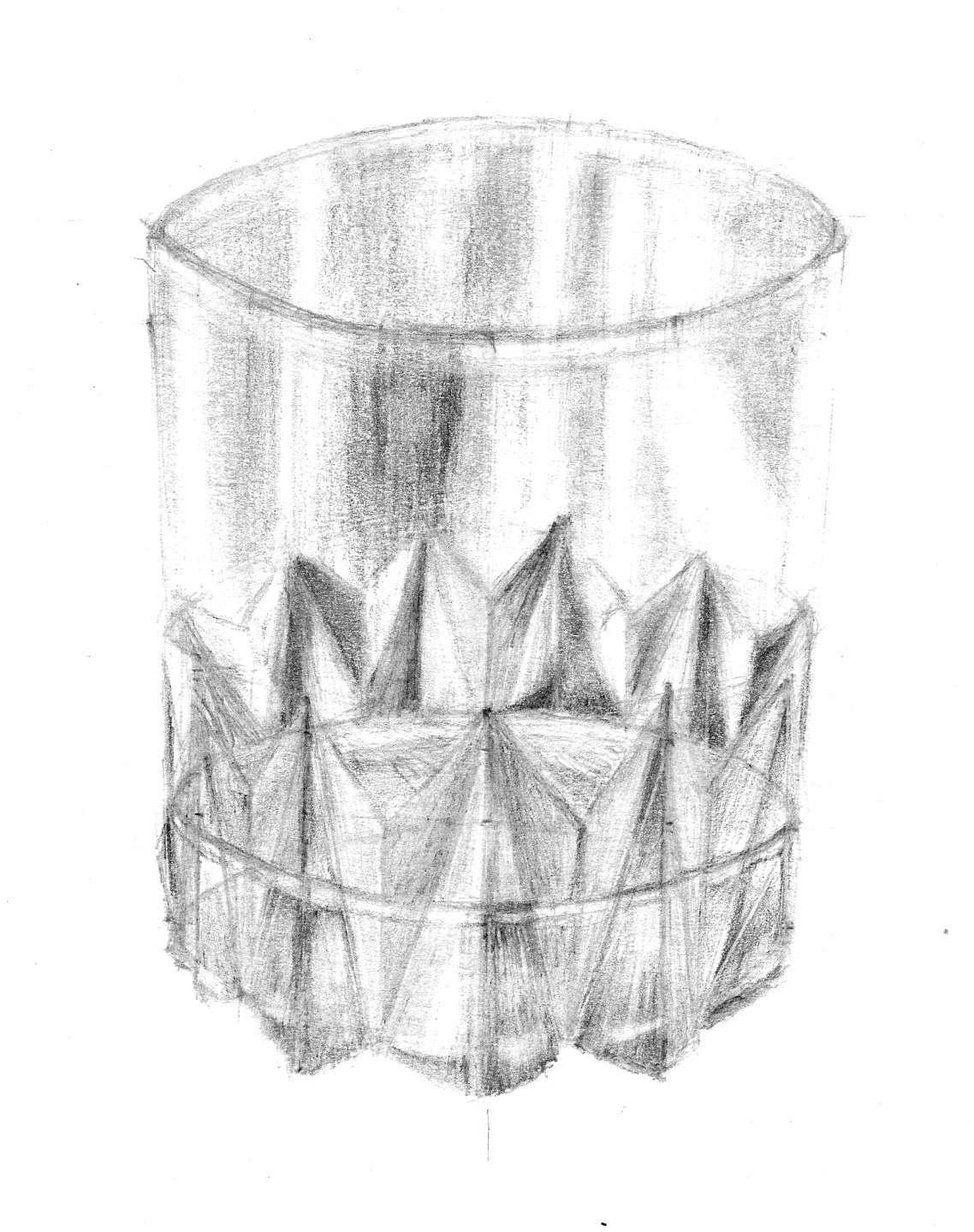 dessin verre