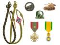 insignes et décorations de l'armée française