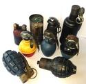 les grenades et artifices français