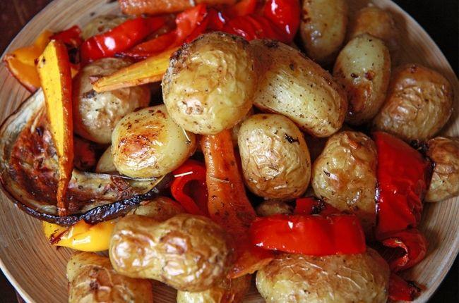 овощные блюда в духовке рецепты с фото