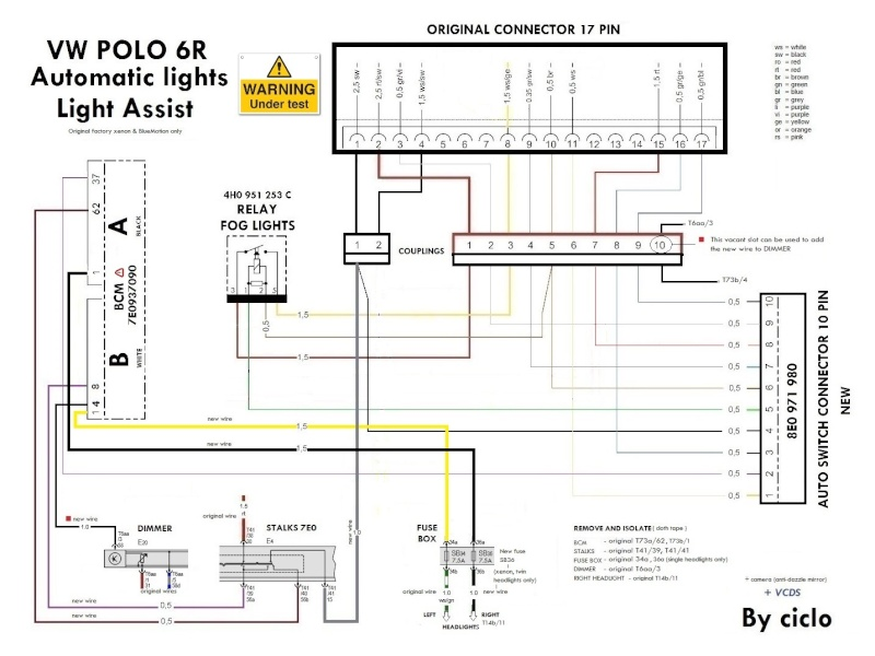 Wiring Diagram Vw Polo 1998 : Vw polo wiring diagram images