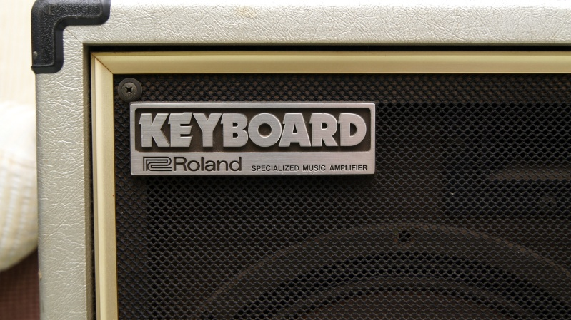 roland keyboard amplifier ck 60 aka cube 60 used. Black Bedroom Furniture Sets. Home Design Ideas