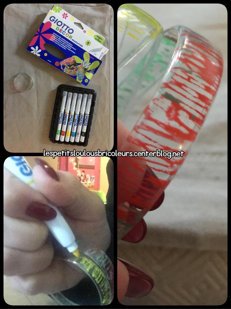 Bracelet avec une bouteille en plastique - Decorer une bouteille en plastique ...