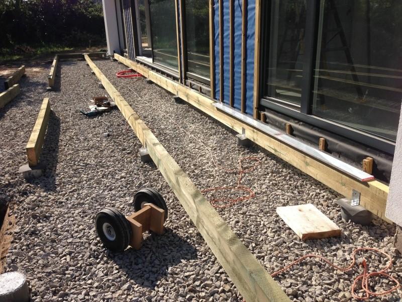 Terrasse bois page 2 for Terrasse bois sur terre