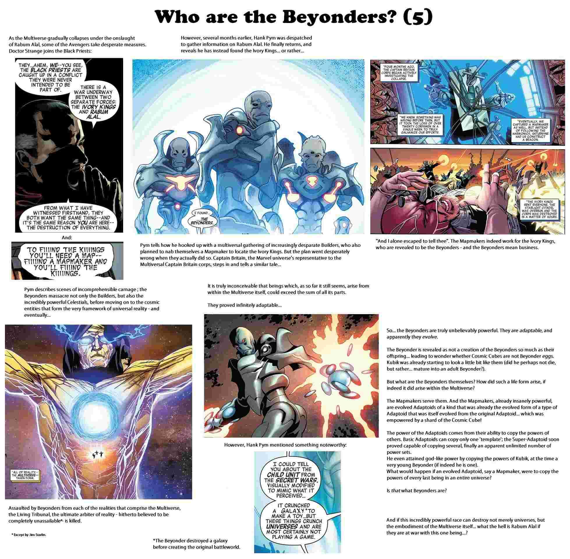 The Beyonders Respect Thread