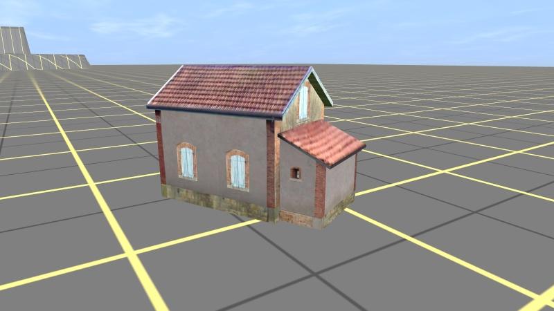 construire un b timent de a z une maison de garde barri res. Black Bedroom Furniture Sets. Home Design Ideas
