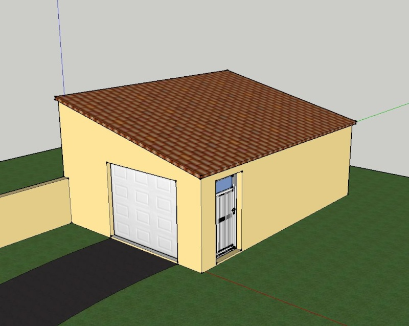 Garage atelier de zeb for Construction garage parpaing plan