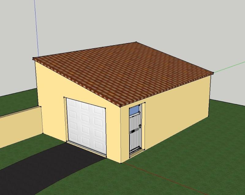 Garage atelier de zeb for Double garage parpaing