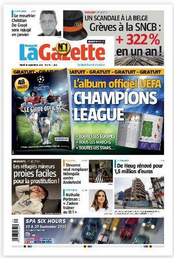 La nouvelle gazette du 15-09-2015 Belgique