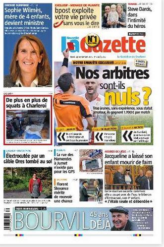 La nouvelle gazette du 22-09-2015 Belgique