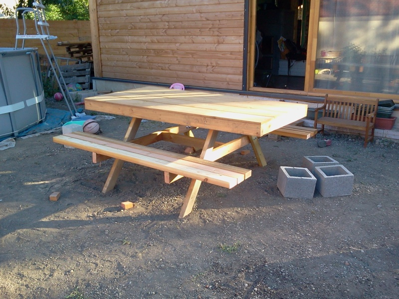 Fabrication De Table En Bois Sammlung Von