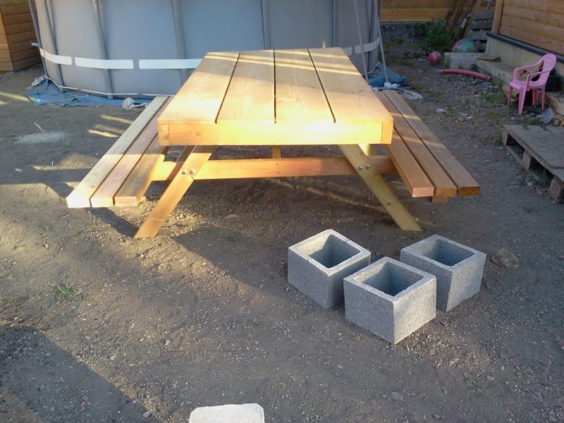 Fabrication Table De Jardin Plastique Des Id Es Int Ressantes Pour La Conception