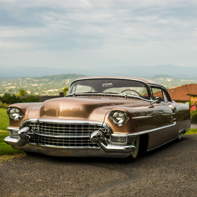 Custom Cadillac Deville For Sale: 1955 Cadillac Coupe Deville