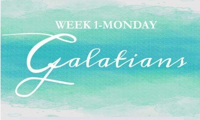 Galatians Week 1