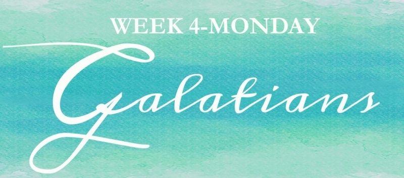 Galatians Week 4