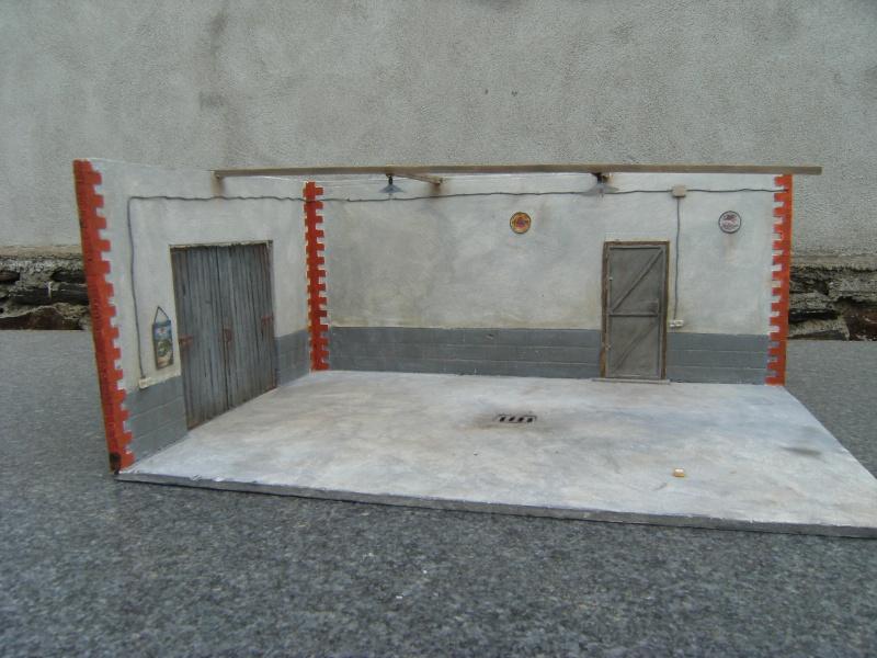 Diorama au 1 18 for Garage mercedes autour de moi
